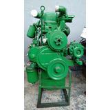 Motor Om 314 Mb 608 Retificado Completo A Base De Troca