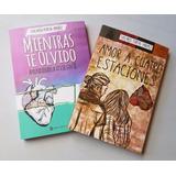 Amor A Cuatro Estaciones Y Mientras Te Olvido 2 Libros Ofert