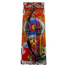Ab7193- Brinquedo De Arco E Flecha De Plástico Shooting Game
