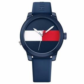 Relógio Tommy 1791322 Azul + Brinde