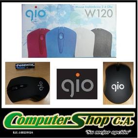 Mouse Optico Inalambrico / Gio / W120 / 2,4ghz