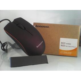 Mouse Óptico Lenovo M20 Puerto Usb