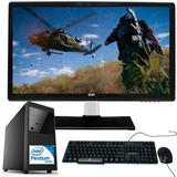 Computadora Pc Intel G4600 4gb Ddr4 1tb Disco Monitor 19.5