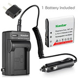 Kastar 1x Battery + Charger For Casio Np-40 Bc-31l & Casio E