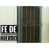 Puerta Reja + Envio Gratis + Herrería.