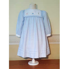 Vestido De Estilo, Nena, Importado, 5-6 Años, Usa