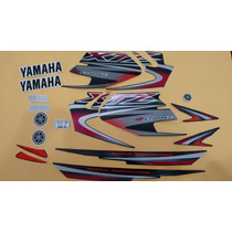 Kit Adesivos Yamaha Xtz 125 2005 Preta