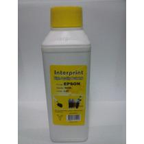 Tinta Interprint 500ml Para Epson Colores Amarillo Y Magenta