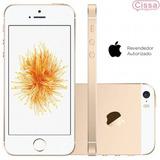 Smartphone Apple Iphone Se 16gb 4g 12mp Dourado Dual Core