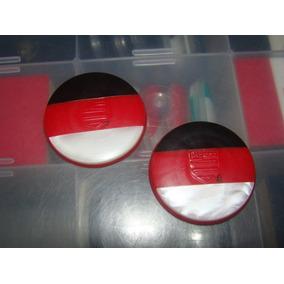 Cod 117 - Botões Do Flamengo 3,9cm Original Anos 80 Galalite