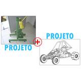 Projeto Curvadora De Tubos ,dobradeira De Tubos + Kart Cross