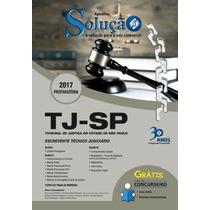 Apostila Tj Sp 2017 - Escrevente Técnico Judiciário -solução