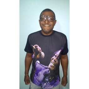 Camiseta Funk James Brown Imortal Americano Masculino