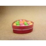 Caja Acrilico Corazon Candy Bar Souvenir Mesa Dulce,*z/norte