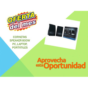 Oferta Cornetas Speaker 800w Pc, Laptop, Portátiles