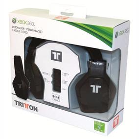 Headset Fone Stereo X Box 360 Triton 50mm Original+ Nf