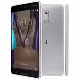 Smartphone Nokia 6 Ta-1003 Dual 5.5 4gb/64gb Câm. 16mp/8mp