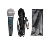 Microfono Gbr Beta49 Dinamico Con Cable Y Estuche Karaoke