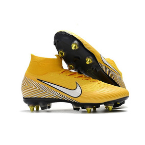 Chuteira Nike Mercurial Superfly 4 Black - Chuteiras Amarelo no ... 5df49dc9934f5