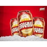 Cerveza Brahma Latas De 473cc, Pack X 6un.