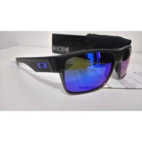 b9119209427b3 Óculos Twoface Polarizado Preto, Lente Azul, O Roxo De Sol - Óculos ...