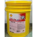 Lubricante 20w50 Shell Helix Nafta O Diesel Balde 20 Lts