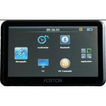 Gps Automotivo Foston Tela 7 Tv Digital Radar Atualizado