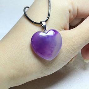 Corazón Cuarzo Dije Piedra Energía Malas Vibras Reiki