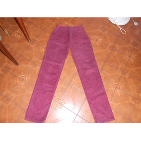 Pantalon Mujer Corderoy Union Good Original Med En El Anunc