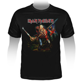 Camiseta Rock Iron Maiden The Trooper - Stamp Ts-862