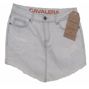 Mini Saia Cavalera Original Nova Hot Pant N 40 Destroyed