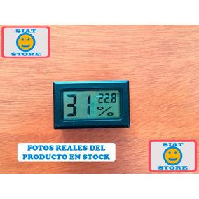Termómetro Higrómetro Digital Medidor Humedad Y Temperatura