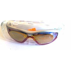 fe9494446 Óculos De Natação Profissional Espelhado Antiembaçante Red · R  59 99