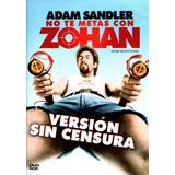 Dvd No Te Metas Con Zohan (you Don´t Mess With The Zohan)