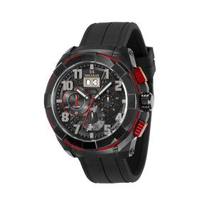Relógio Masculino Seculus Cronógrafo Preto 13009gpsvpu4