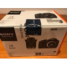 Cámara Fotos Reflex Digital Sony Alpha 3000 Y Sd 32gb