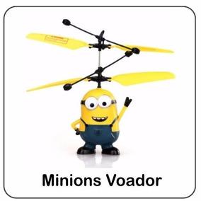 Mini Helicóptero Minions Voador Malvado Favorito