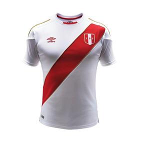 Jersey Oficial Playera Selección Perú Futbol Original 2018 U