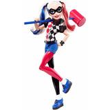 Dc Super Hero Girls Harley Quinn 30cm Articulada De Mattel