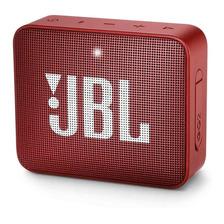 Caixa De Som Jbl Go 2 Portátil Sem Fio Ruby Red