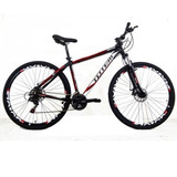 Bicicleta 29 Totem Manic 24v Index F. A Disco Preto T17