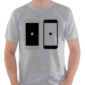 Camiseta Iphone Apple Smartphone Maçã Geek Nerd Camisa Blusa
