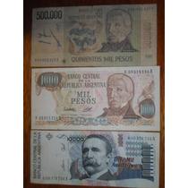 Billetes Reposición Argentina Exc,mb,b...escucho Ofertas !!!