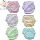 Bebê Fralda Enxuta Reutilizável Calça Plástica Ecológica