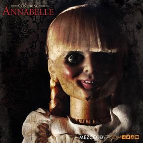 Boneca Annabelle Replica 1/1 Mezco 2017 46 Cm Coleção Terror