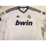 Camiseta Real Madrid 110 Años 2012, Talle Al Cuerpo