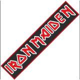Parche Iron Maiden 100% Bordado Rock Bandas