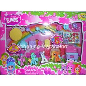 Pony Hermoso Set De 17 Pcs * Somos Tienda Fisica*