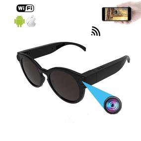 f94c9b604d0fe Nova Camera Espia Disfarçada Em Oculos Wifi Conect C Celular