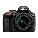 Cámara Nikon Reflex D3400 Kit 18-55 Mm